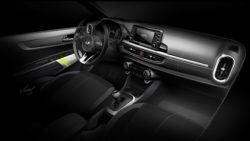 2017 Kia Picanto interior official sketches