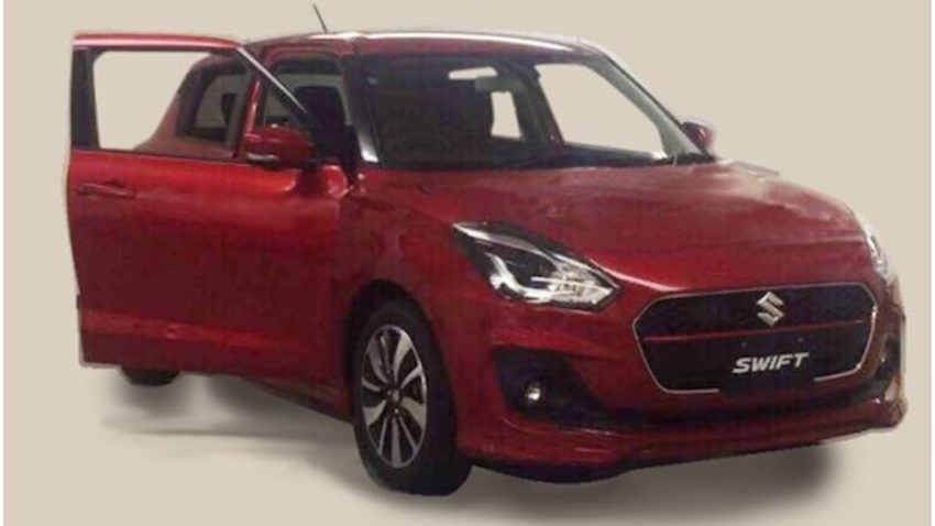 2017 Suzuki Swift Spied Undisguised 6