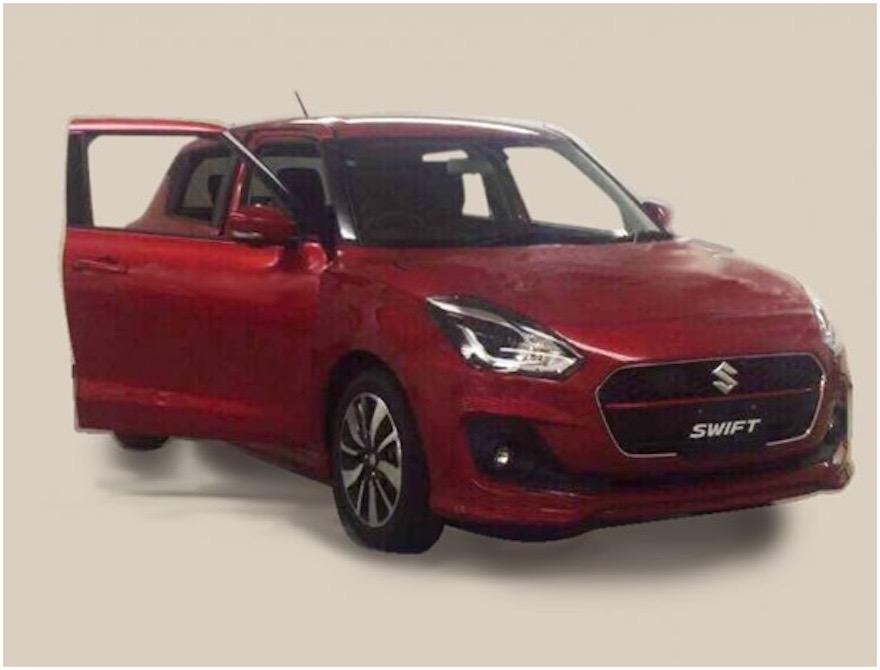 2017 Suzuki Swift Spied Undisguised 1