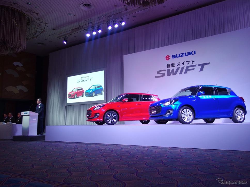 2017 Suzuki Swift launch image