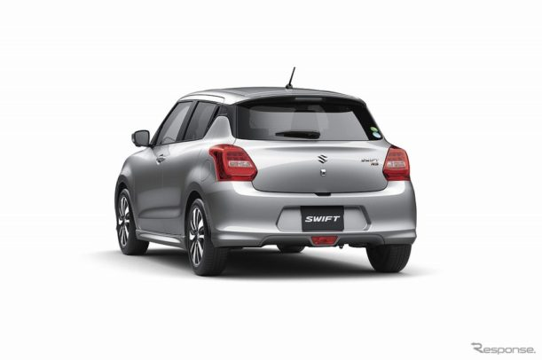 Suzuki Swift Gets 5-star Safety Rating from JNCAP 3