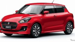 2017 Suzuki Swift Launched in Japan 1