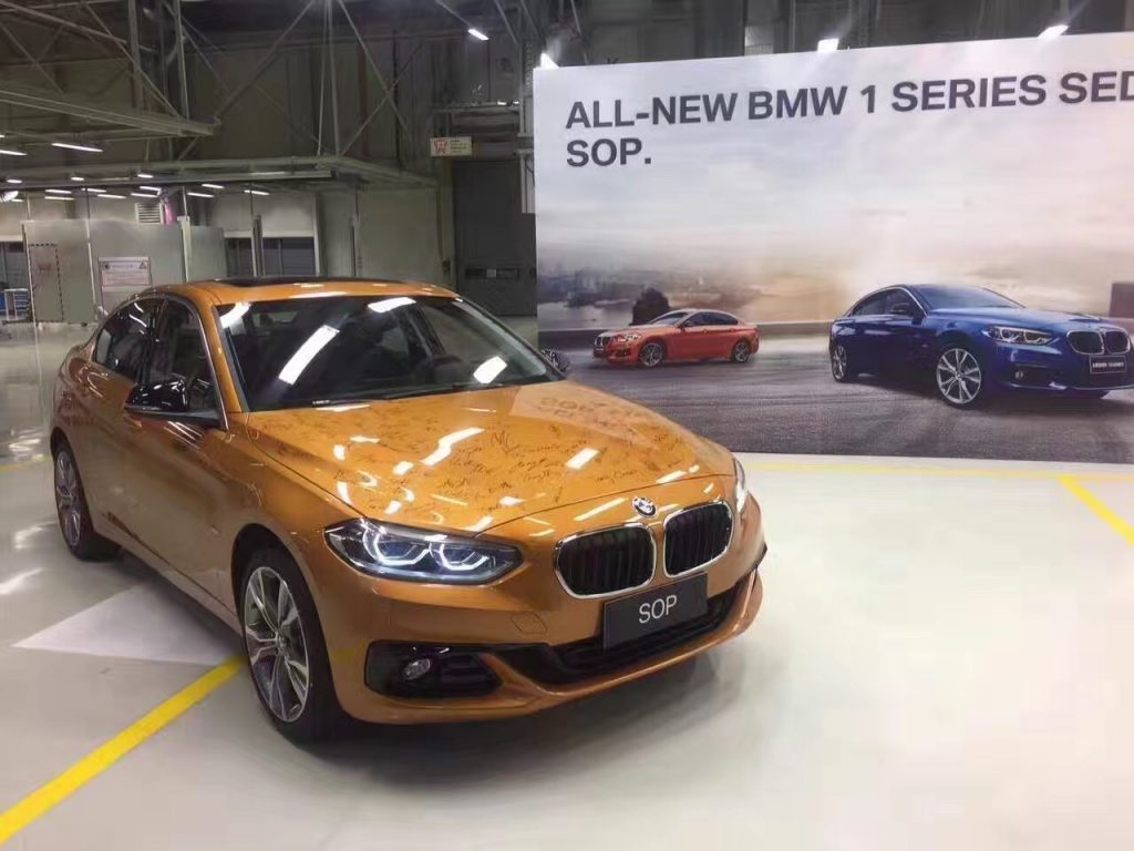 BMW 1 Series Sedan- Production Begins in China 8