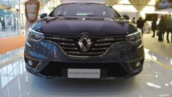 Renault Megane Sedan front at 2016 Bologna Motor Show