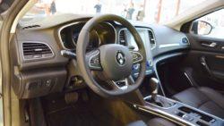 Renault Megane Sedan interior at 2016 Bologna Motor Show