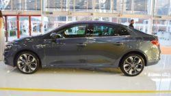 Renault Megane Sedan profile at 2016 Bologna Motor Show