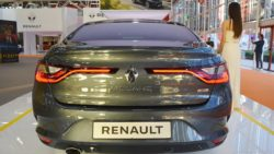 Renault Megane Sedan rear at 2016 Bologna Motor Show