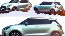 2017 Suzuki Swift Spied Undisguised 3