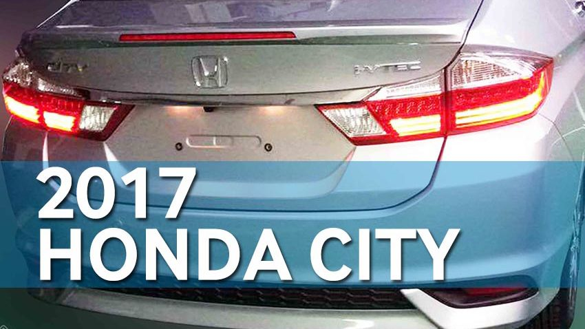 2017 Honda City Exterior Leaked 2