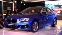 BMW 1 Series Sedan- Production Begins in China 2