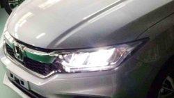 2017 Honda City Exterior Leaked 3