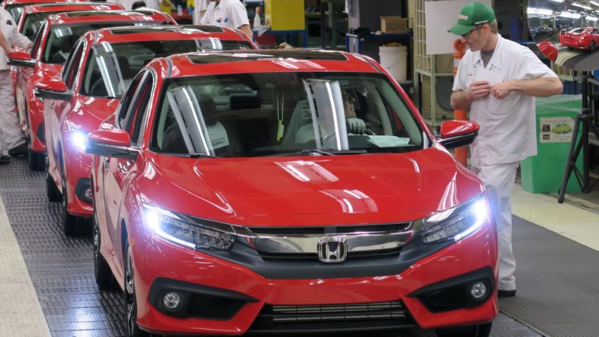 Honda Reaches 100 Million Worldwide Automobile Production Milestone 2