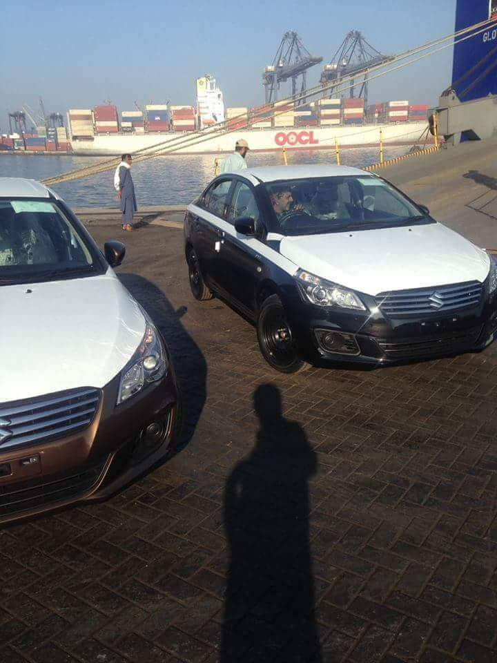 200 Units of Suzuki Ciaz reached Karachi Port 9