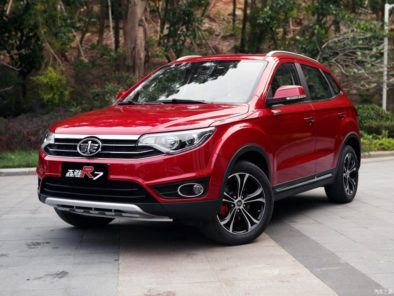 FAW and the Booming Crossover SUV Segment 4