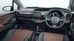 2017 Toyota Vitz Toyota Yaris base interior Japan