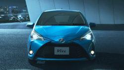 2017 Toyota Vitz Toyota Yaris front Japan
