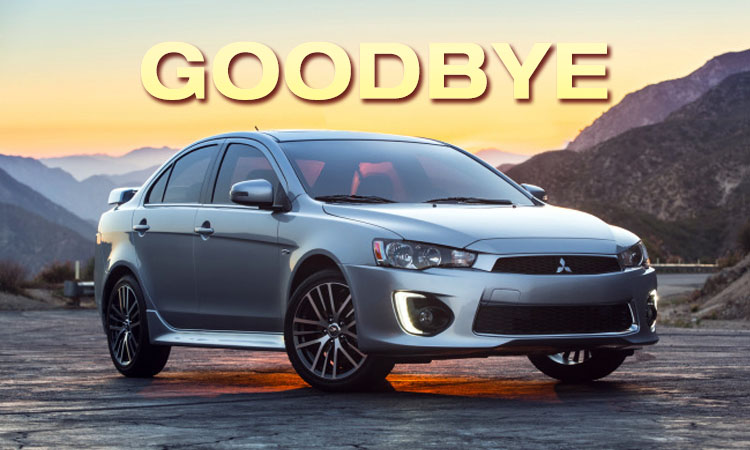 Mitsubishi to End Lancer Production in August 5