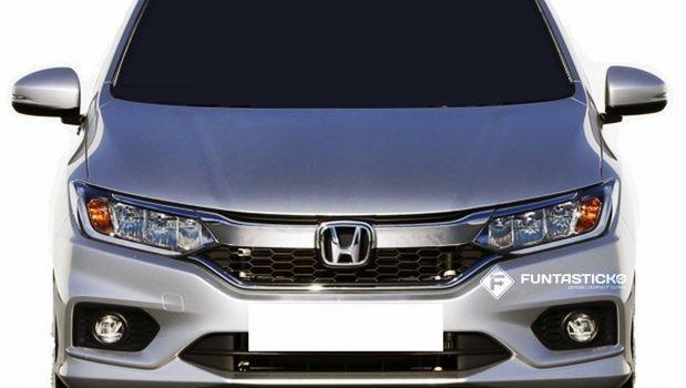6th gen Honda City Facelift Revealed 2