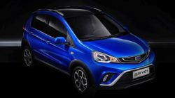Official Photos of the Geely Emgrand Mini 6