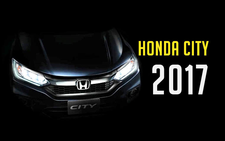 Honda City Facelift will Launch in Thailand on 12th January 2017 2