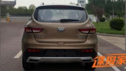 FAW D60 SUV To Receive A Facelift 2