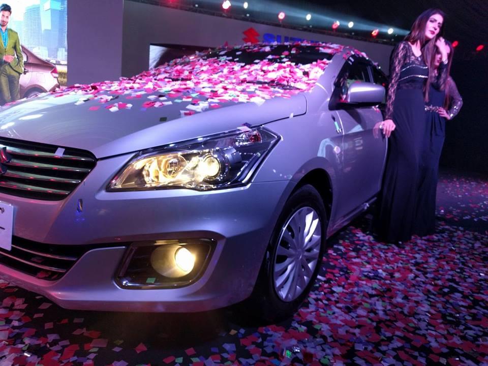 Pak Suzuki Officially Launches the Ciaz Sedan 1