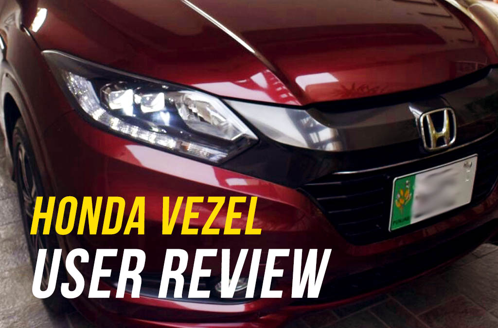 User Review: Honda Vezel of Ahmad Zaheer 5