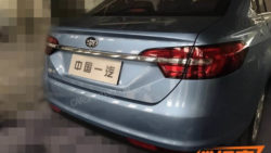 FAW Developing A New Sedan 2