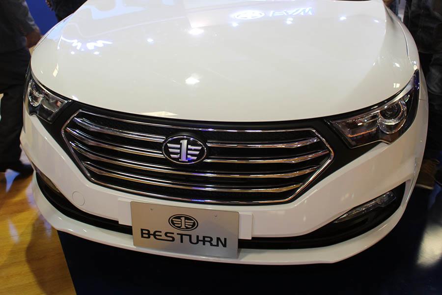 FAW B30 at Pakistan Auto Show 2017 1
