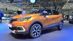 Facelift Renault Captur Debuts at Geneva Motor Show 2017 1