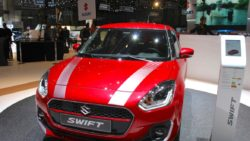 New Suzuki Swift at 2017 Geneva Motor Show 1