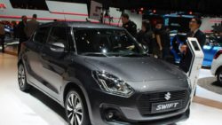 New Suzuki Swift at 2017 Geneva Motor Show 5