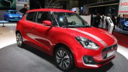 New Suzuki Swift at 2017 Geneva Motor Show 2