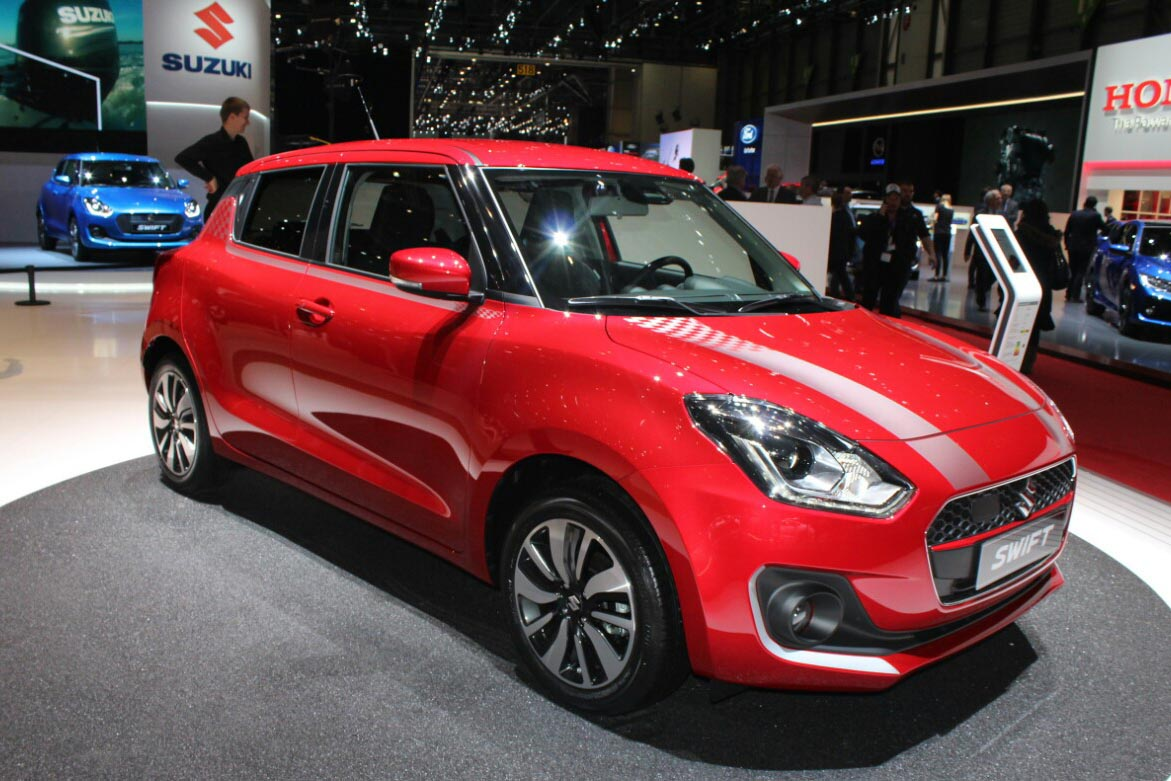 New Suzuki Swift at 2017 Geneva Motor Show 7