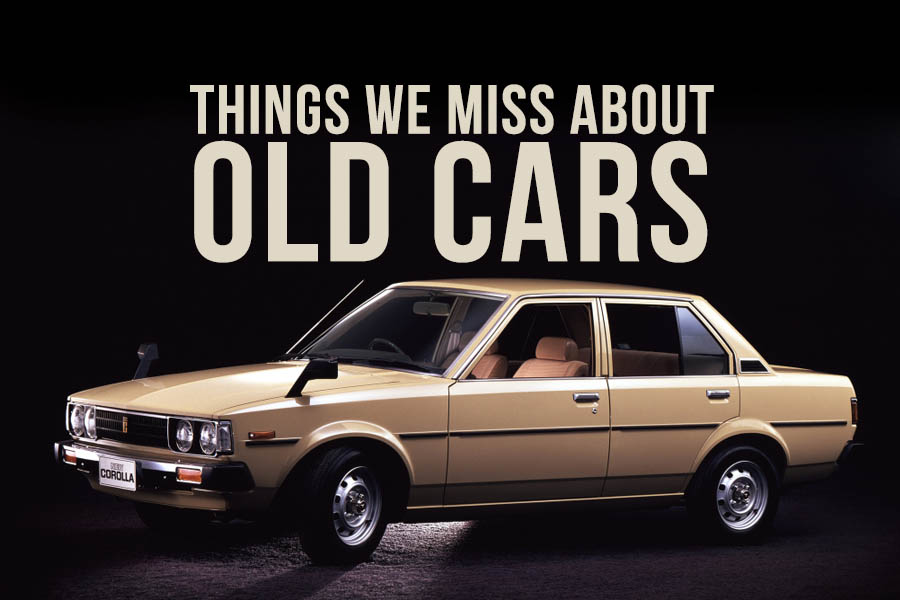 Things That We Miss About Old Cars 6