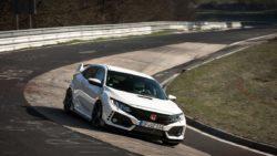 2017 Honda Civic Type R Captures Nurburgring Lap Record 4