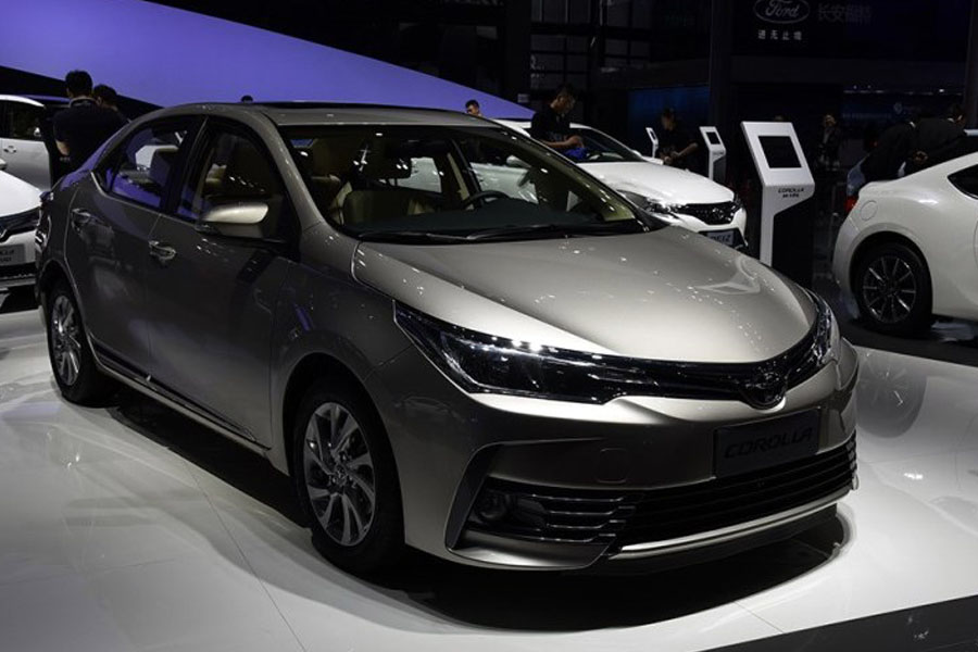 Toyota Corolla Facelift At Shanghai Auto Show 2017 2