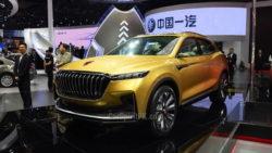 FAW At Shanghai Auto Show 2017 73