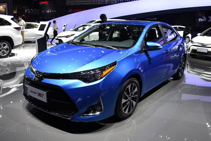 Toyota Levin Facelift At Shanghai Auto Show 2017 4