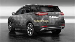 FAW Teases the R9 SUV For Shanghai Auto Show 2017 2