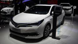 Toyota Corolla Facelift At Shanghai Auto Show 2017 16