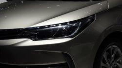 Toyota Corolla Facelift At Shanghai Auto Show 2017 4