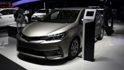 Toyota Corolla Facelift At Shanghai Auto Show 2017 6
