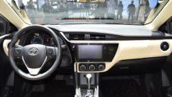 Toyota Corolla Facelift At Shanghai Auto Show 2017 11