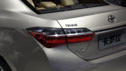 Toyota Corolla Facelift At Shanghai Auto Show 2017 9