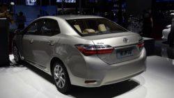 Toyota Corolla Facelift At Shanghai Auto Show 2017 8