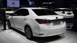Toyota Corolla Facelift At Shanghai Auto Show 2017 20