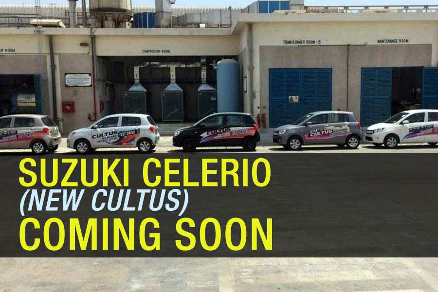Pak Suzuki Celerio (New Cultus) to Launch Soon 4