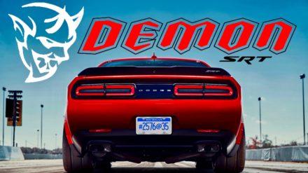 The 840 HP Dodge Challenger SRT Demon 2018 5