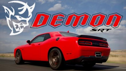 The 840 HP Dodge Challenger SRT Demon 2018 4